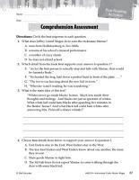 Maniac Magee Comprehension Assessment PDF