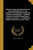 MEMOIRS OF THE LIFE OF THE REV PDF