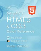 Sergey's Html5 & Css3: Quick Reference. PDF EBook (2nd Edition)