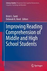 Improving Reading Comprehension Of Middle And High School Students Book PDF