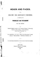 Heads and Faces  and how to Study Them PDF