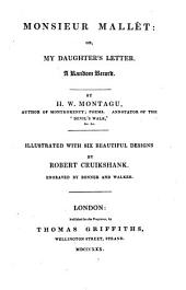 Monsieur Mallét: Or, My Daughter's Letter: A Random Record, Volume 8