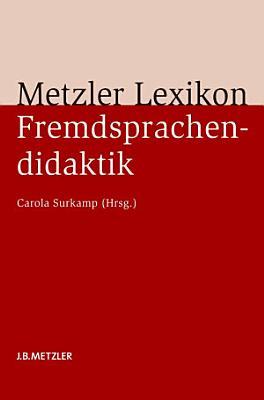 Metzler Lexikon Fremdsprachendidaktik PDF