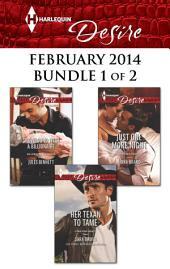 Harlequin Desire February 2014 - Bundle 1 of 2: An Anthology