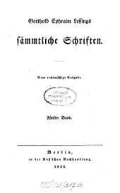 Sämmtliche Schriften: Band 5