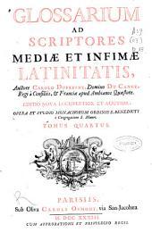 Glossarium ad scriptores mediae et infimae latinitatis: L-O