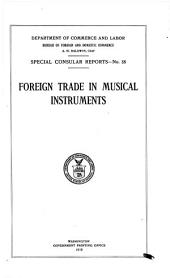 Foreign trade in musical instruments: Volume 55