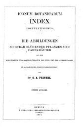 Iconum botanicarum index locupletissimus: Pars prima [altera], Band 2