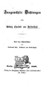 Ausgewählte Dichtungen ... Aus dem Schwedischen von F. O. von Nordenflycht
