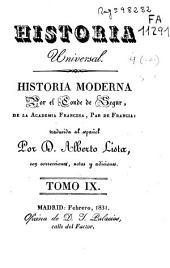 Historia moderna: Volumen 9