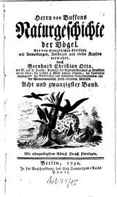 Naturgeschichte der Vögel: Bd. 28