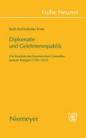 Diplomatie und Gelehrtenrepublik PDF
