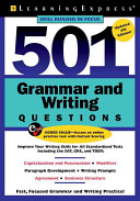 Five Hundred and One Grammar and Writing Questions