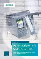 Automatisieren mit SIMATIC S7 1500 PDF