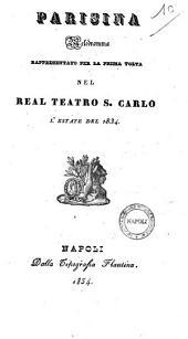 Parisina melodramma [la poesia è del sig. Felice Romani