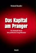 Das Kapital am Pranger PDF