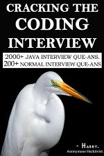 CRACKING THE CODING INTERVIEW.