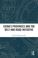 China s Provinces and the Belt and Road Initiative PDF