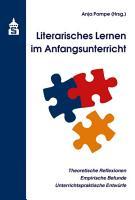 Literarisches Lernen im Anfangsunterricht PDF