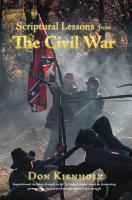Scriptural Lessons from the Civil War PDF