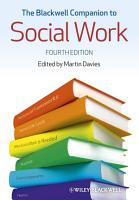 The Blackwell Companion to Social Work PDF
