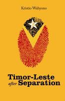 Timor Leste after Separation PDF