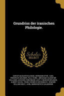 Grundriss Der Iranischen Philologie  PDF