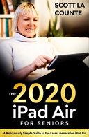 IPad Air  2020 Model  For Seniors