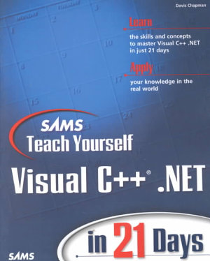 Sams Teach Yourself Visual C    Net in 21 Days PDF