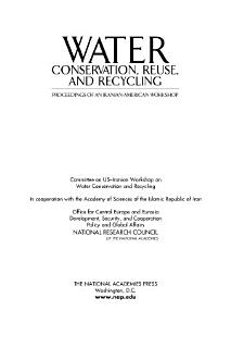 Water Conservation  Reuse  and Recycling Book