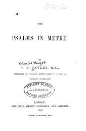 The Psalms in Metre
