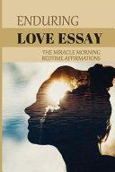 Enduring Love Essay
