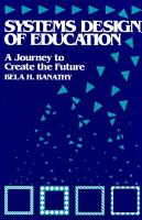 Systems Design of Education PDF