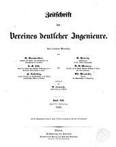 Zeitschrift des Vereines Deutscher Ingenieure: Band 12