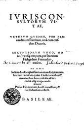 Iurisconsultorum vitae