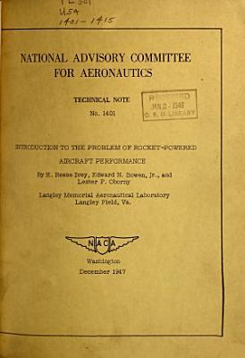 Technical Note   National Advisory Committee for Aeronautics PDF