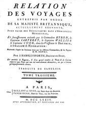 Relation des voyages entrepris par ordre de sa Majeste britannique, pour faire des découvertes dans l'émisphère méridional: Volume3