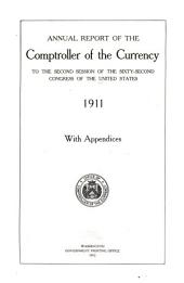 Annual Report of the Comptroller of the Currency to the ... Session of the ... Congress of the United States