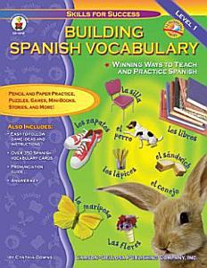 Building Spanish Vocabulary Book