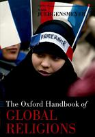The Oxford Handbook of Global Religions PDF