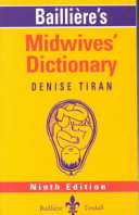 Bailli  re s Midwives  Dictionary PDF