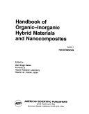 Handbook of Organic-inorganic Hybrid Materials and Nanocomposites: Hybrid materials