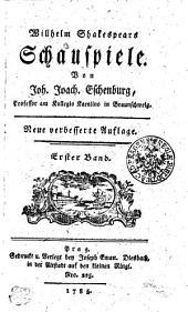 Willhelm Shakespears Schauspiele: Erster Band