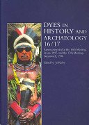 Dyes in History and Archaeology 16 17 PDF