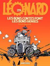 Léonard - tome 29 - Les bons contes font les bons génies