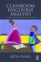 Classroom Discourse Analysis PDF