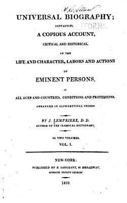 Universal Biography PDF