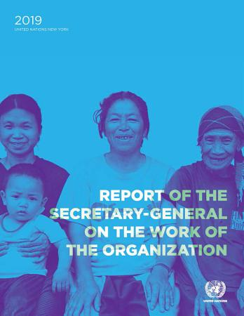 Report of the Secretary General on the Work of the Organization PDF