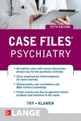 Case Files Psychiatry  Fifth Edition PDF