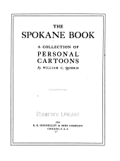 The Spokane Book: A Collection of Personal Cartoons